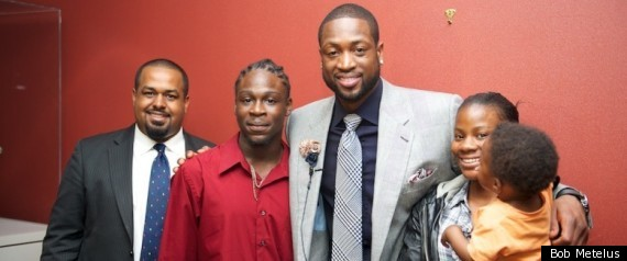 Dwayne Wade Fatherhood Heroes Image at NBA A