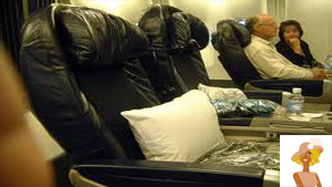 """First Class airline seats"""