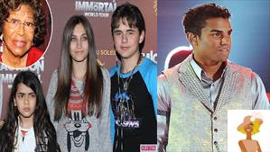 """""""Katherine Jackson wiith Michael Jackson kids and TJ Jackson"""""""