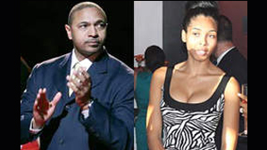 """""""NBA Coach/Pastor Mark Jackson and Stripper Alexis Adams"""""""