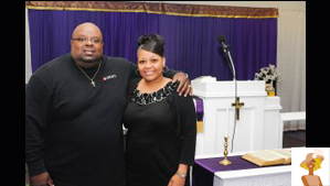 """""""Bishop Carl Mimms and wife"""""""