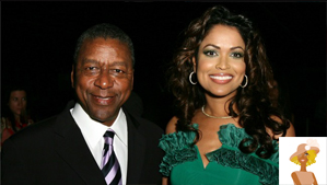 """Robert Johnson Founder of BET and Tracey Edmonds founder Our Stories Films"""