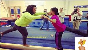 """Oprah and GAbby Douglass on Oprah's Next Chapter"""