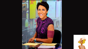 """Robin Roberts Good Morning America Set"""