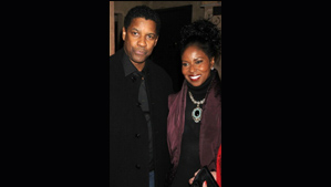 """Denzel and Pauletta Washington"""