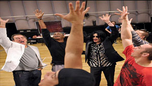 """""""Michael Jackson at This is It Tour Rehearsal"""