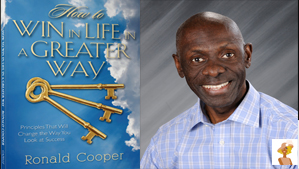 """""""Ronald A. Cooper and how to win in life book cover"""""""