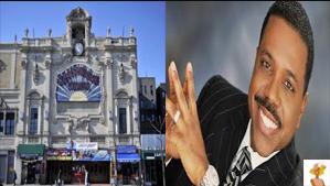 """Creflo Dollar Ministries acquires paradise theater"""