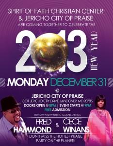 Jericho City of Praise and Spirit of Faith