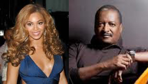 Beyonce and Matthew Knowles