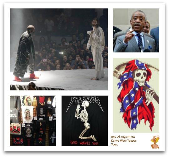 Kanye West-Yeezus-Tour-Al Sharpton