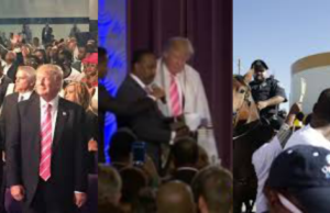 black church donald trump visit
