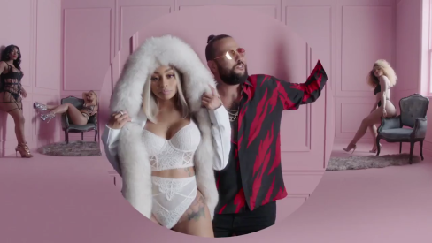 Blac Chyna Makes Cameo Appearance In Belly's Raunchy Video 'P.O.P