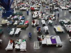 Houston floods: Storm Harvey 'affected 100,000 homes'