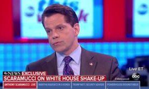 Scaramucci: White house plotters seeking Trump exit