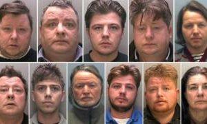 Rooney traveller family jailed for modern slavery offences
