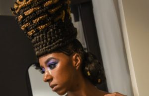 The Latest Trends For Braided Hairstyles And Kinky Curly Hair Straight From The Runway