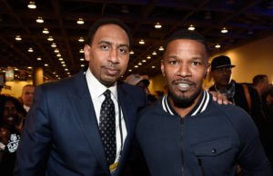 LOL: Jamie Foxx Impersonates Stephen A. Smith In Front Of Stephen A