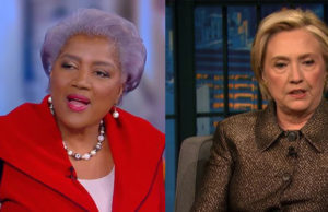 Hillary Clinton Pushes Back Against Donna Brazile's 'Rigged' Claims