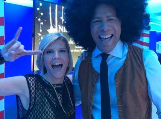 Lester Holt Sports Afro Wig To Perform 'I Want You Back' At NBC Holiday Party