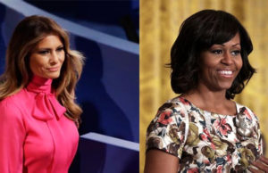 Michelle Obama Tops Melania Trump In Poll For 'Most Admired Woman'