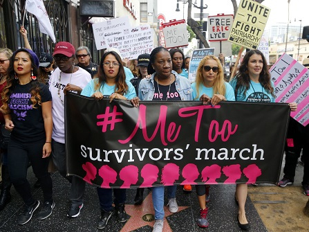 NYC New Year's Eve Ceremony To Feature #MeToo Founder