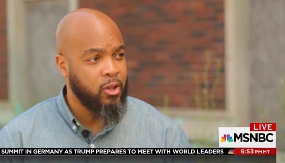 MSNBC Digital Journalist Trymaine Lee Promoted to Correspondent