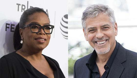 Oprah Winfrey Matches Clooney's $500K Donation For Anti-Gun Rally