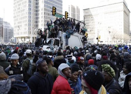 Philly Philly! City Celebrates Super Bowl Win With Huge Parade