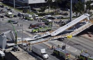 Pedestrian Bridge Collapses In Miami, Killing Several