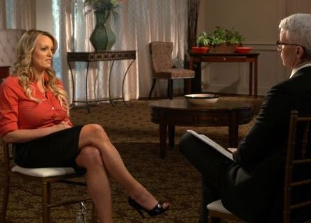 Porn Star Stormy Daniels Says She Was Silenced About Alleged Trump Affair