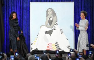 Smithsonian Moves Michelle Obama Portrait