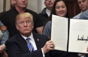 Trump Moves Forward With Tariffs Despite Risk Of Trade War