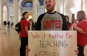 West Virginia Teacher Strike Heads Into Seventh Day