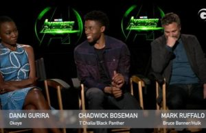 Chadwick Boseman Talks Being Chased Down In The Name Of Wakanda