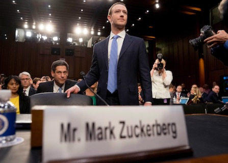 Facebook's Mark Zuckerberg Has Few 'Friends' In Congress