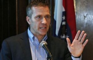 Missouri Governor Eric Greitens Accused Of Sexual Impropriety