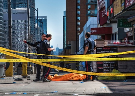 Van Runs Onto Toronto Sidewalk, Killing 10, Injuring 15