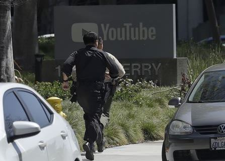 Woman Opens Fire On YouTube Campus, Injuring Four
