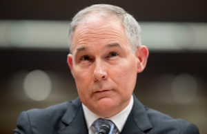 Scott Pruitt finally Out