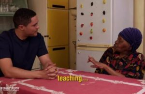 Trevor Noah Talks Apartheid With His Grandmother In South Africa [Video]