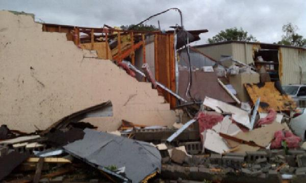 Malaco Records destroyed by Mississippi Tornado