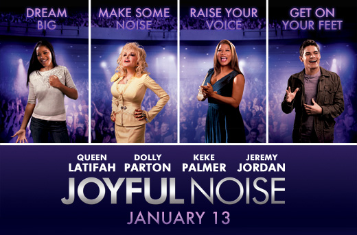 Queen Latifah And Dolly Pardons Joyful Noise Opens January 13th