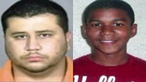 """George Zimmerman and Trayvon Martin"""