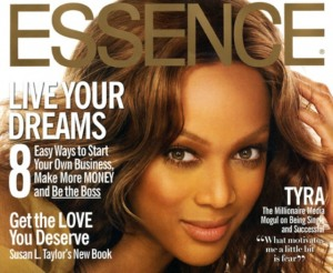 Tara banks cover of Essence Magazine
