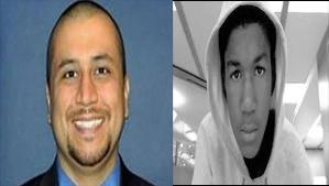 George Zimmerman and Travon Martin
