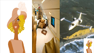 """The Church Lady Private Jets"