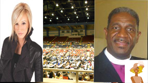 """Paula White Bishop Kenneth Carter CME Conference"""