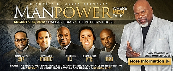 TD Jakes Manpower Conference 2012