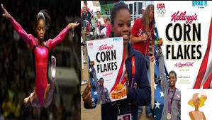 """Olympian Gabby Douglas earns her first Kellogs Endorsement"""